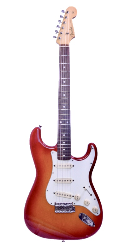 Fender Japan Exclusive Classic 60s Stratcaster Cherry Burst 2015